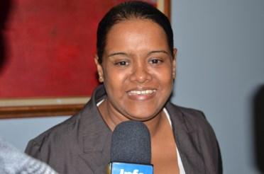 Rehabilitation Assistant at the Bartica Regional Hospital, Sharmaine De Freitas