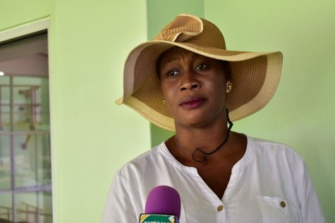 Shermin Blair, a resident of Supply Village, East Bank of Demerara.
