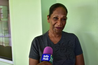 Donia Stanislaus, a resident of Craig village, East Bank of Demerara.