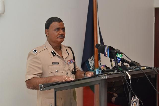 Commissioner of Police (ag), David Ramnarine