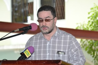 Director of Education, Central Islamic Organisation of Guyana (CIOG), Shaikh Moeen-ul-Hack.