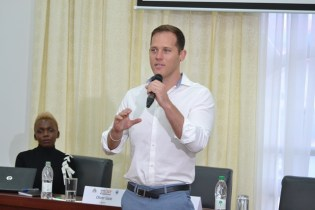 Co-Founder of BITT, Barbados, Oliver Gale.