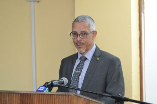 Minister of Business with responsibility for Tourism, Dominic Gaskin