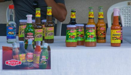 Some of the Royal Products on display
