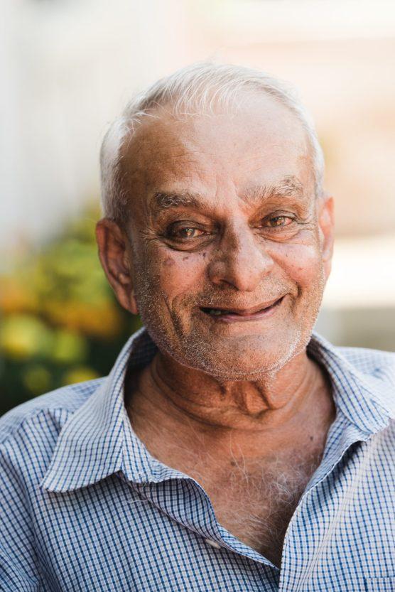 Rice farmer Ganga Persaud