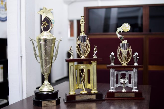 Trophies donated