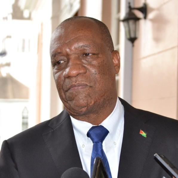 Minister of State, Joseph Harmon
