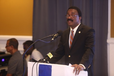 Attorney General and Minister of Legal Affairs, Basil Williams, SC.
