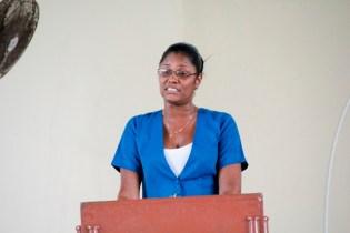 Work-study Supervisor, Ms. Onita Bynoe.