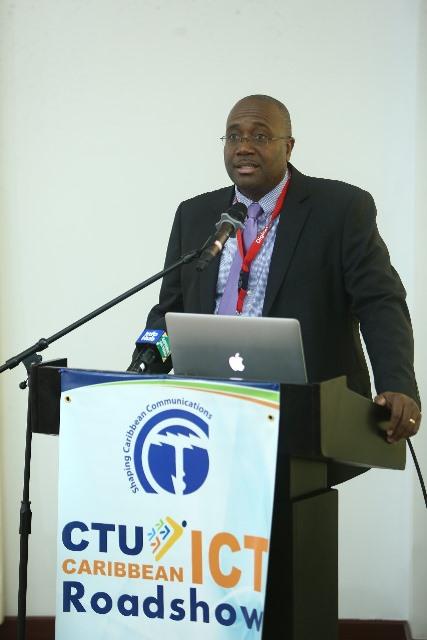 Coordinator of the Caribbean Telecommunications Union (CTU), Junior Mc Intyre.