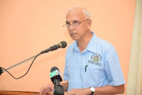 Minister of Communities, Ronald Bulkan.
