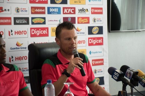 Head Coach of the Amazon Warriors, Johan Botha