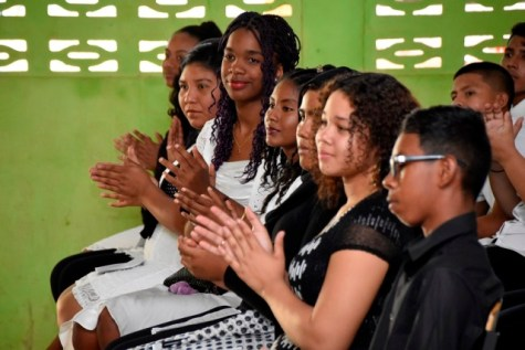 Thirty-six students received Information Communications Technology (ICT) certification upon completion of the First Lady, Mrs. Sandra Granger's ICT Workshop in Upper Takutu-Upper Essequibo (Region Nine).
