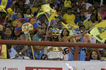 Guyanese in their numbers at the National Stadium in support of the Amazon Warriors