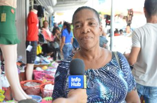 Joy Patterson, a guardian shopping for back-to-school items
