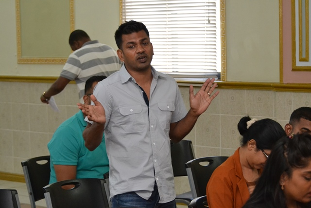 Owner of BuyME Auto, Danny Persaud