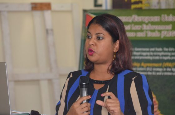 Head of Planning and Development, Pradeepa Bholanath