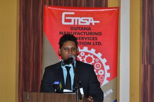 President of the Guyana Manufacturing and Services Association, Shyam Nokta
