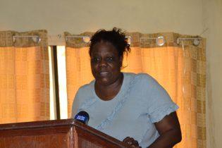President of the Guyana Diabetic Association, Glynnis Alonzo-Beaton