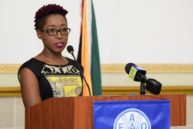 Head, Office of Climate Change, Janelle Christian
