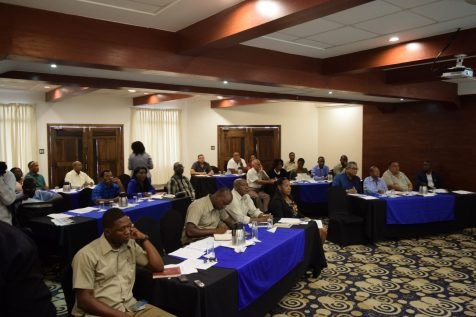 A section of the participants at the workshop