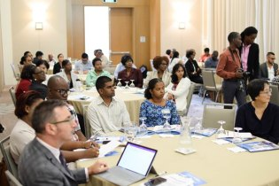 Stakeholder during the workshop on developing a national eHealth Strategy.