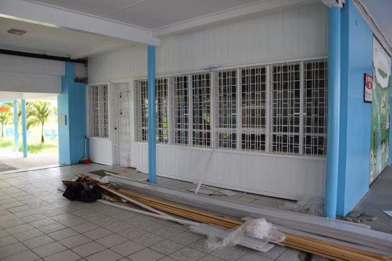 Rehabilitation works at St. Joseph High