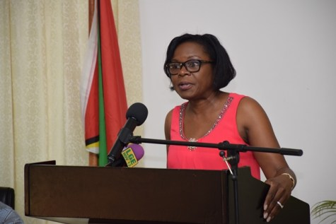Deputy Chief Medical Officer at the Ministry of Public Health, Dr. Karen Gordon-Campbell.