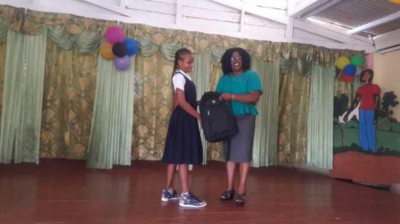 Linicia Fredricka earned 470 marks