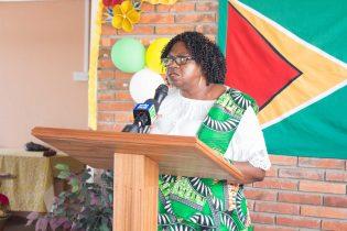 Chairman of Region Four, Genevieve Allen