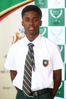 Best Debater at the 4th Youth Parliament, Jordan Kellman, Prime Minister