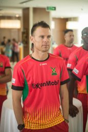 Head Coach of the Guyana Amazon Warriors, Johan Botha