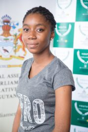 Mya Kendall, Youth shadow Minister of Natural Resources