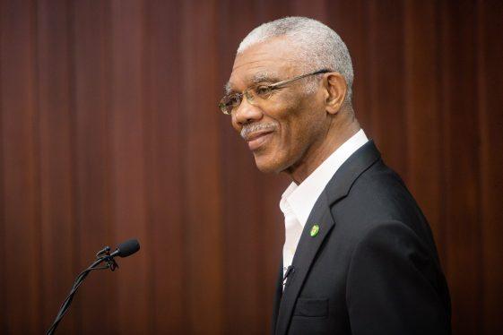 H.E. David Granger, President of the Cooperative Republic of Guyana.