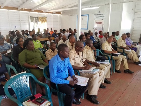Participants at the session.