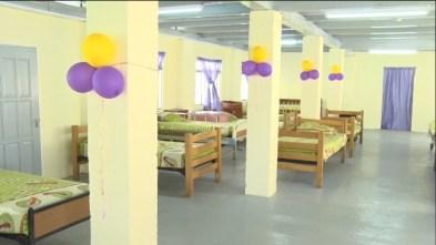 The renovated ward.