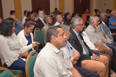 A Section of the audience at the GMSA's discussion on the 'green paper' on the NRF