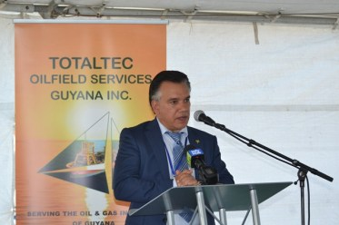 President and CEO of TOTALTEC, Lars Mangal.