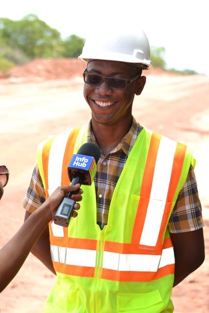 Region Ten Engineer, Steve Dey.