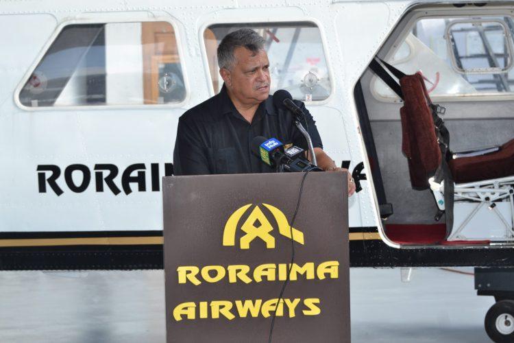 Chief Executive Officer (CEO) of Roraima Airways, Captain Gerald Gouveia