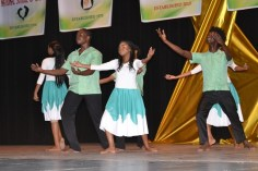 A dance performed by the students from the National School of Dance.
