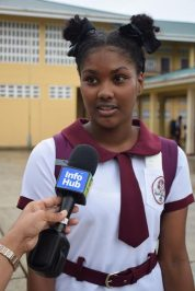Grade 11 Business Student of Three Mile Secondary School, Oureanna Lake.