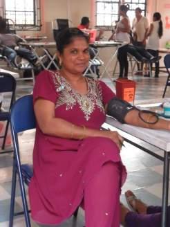 Participating in Humanitarian gesture