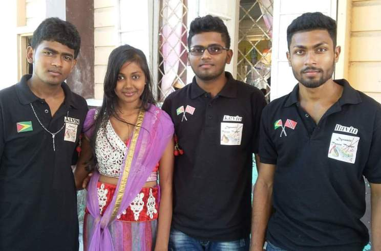 The three founding Jaimangal brothers with their sister