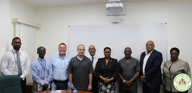 Government Officials along with PAHO staff NIOSH engineers.