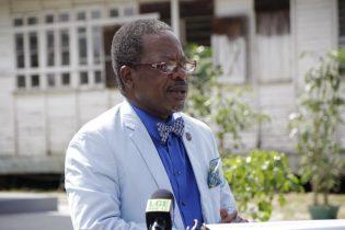 Vice-Chancellor of UG, Professor Ivelaw Griffith