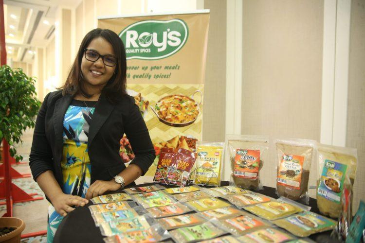 Cheeka Kunjbeharry of Roy's Quality Spices
