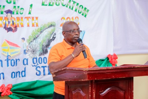 Assistant Chief Education Officer (Primary) Mr. Owen Pollard (Ministry of Education photo)