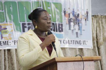 Regional Education Officer, Ms. Annesta Douglas