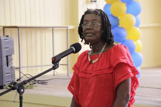 Secretary-General of the National Commission for UNESCO in Guyana, Ms. Patrice LaFleur